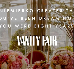 vanity fair wedding planners