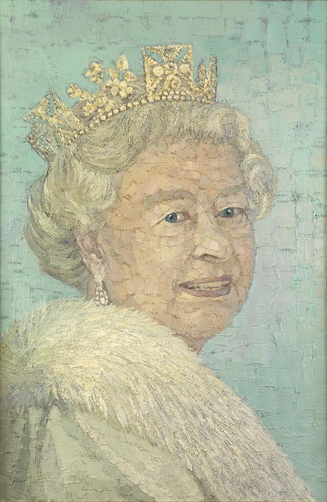 Pip Todd Warmoth - Queen Elizabeth II