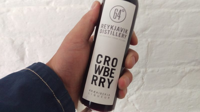 Icelandic Crowberry Liqueur