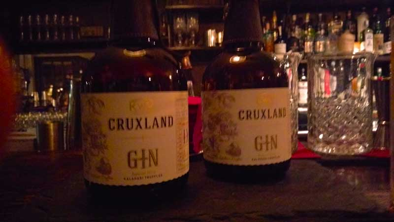 Cruxland Gin South Africa Infused Kalahari Truffle
