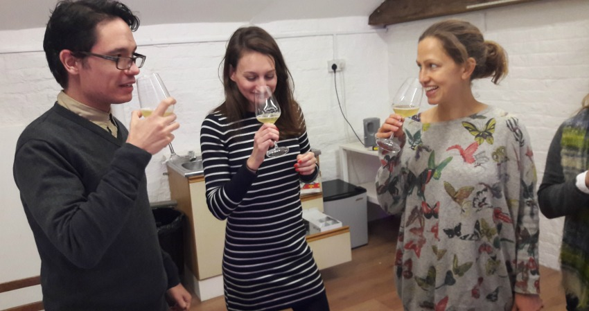 Mead tasting at InDulwich HQ